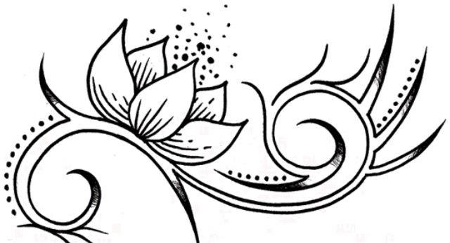 Egyptian Flower Tattoo Lotus Flower Tattoo Design Flower Tattoo Designs Flower Tattoo Drawings