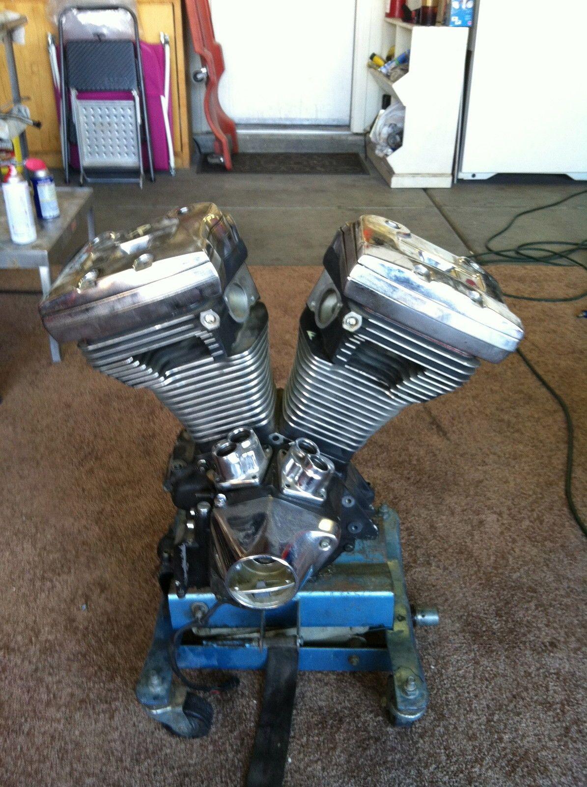 Harley Davidson Evo Motor Engine 80ci 84 99 Evolution No Reserve