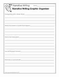 narrative writing for kids