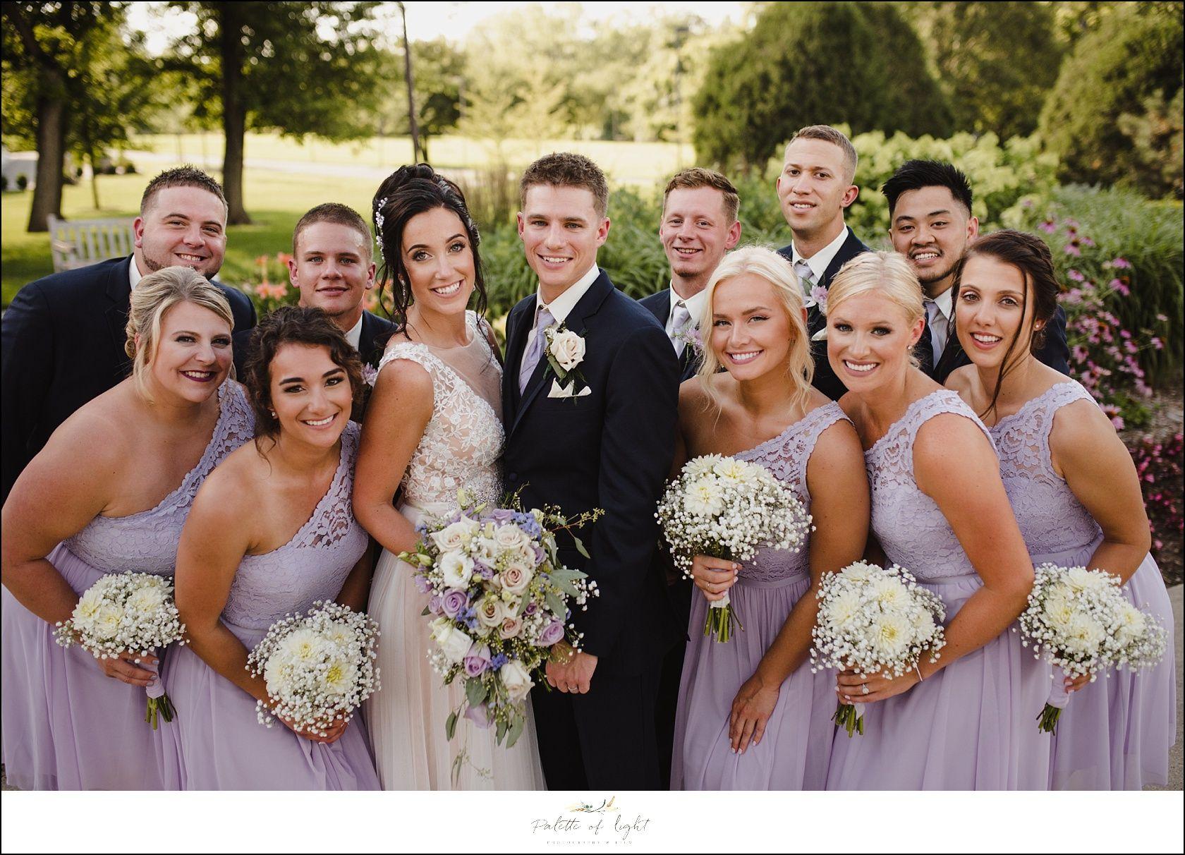 Wedding Party Iris Bridesmaid Dresses