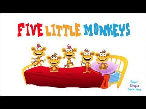 ▷ Five Little Monkeys! - YouTube 2:10 | Sing a song | Five