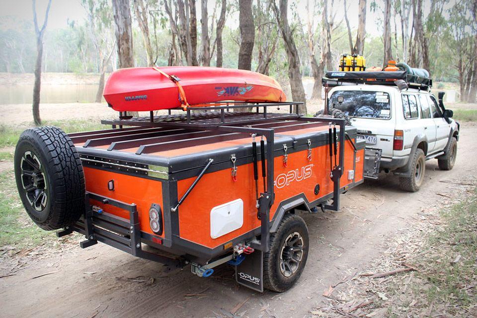 Air Opus Pop Up Camper Camper Kayak Storage Camper Trailers