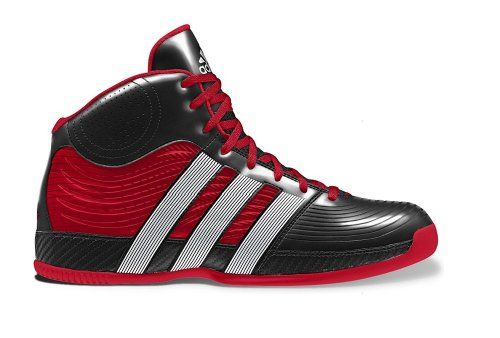 New Adidas Commander TD 4 Black/Red Mens 7.5