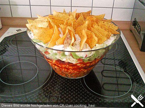 die besten 25 nacho salat ideen auf pinterest cheese dip nachos gurkensalat dill und cremige. Black Bedroom Furniture Sets. Home Design Ideas