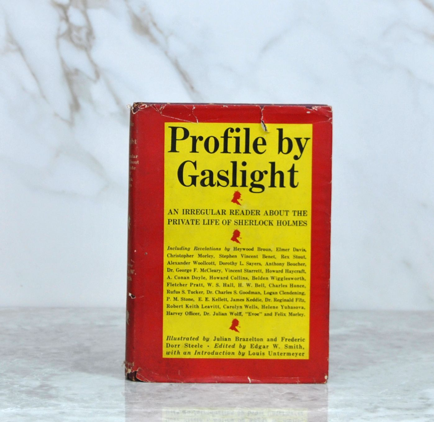 Vintage Profile by Gaslight: An Irregular Reader About the Private Life of Sherlock Holmes (First Printing) 1944 Simon & Schuster – Crime