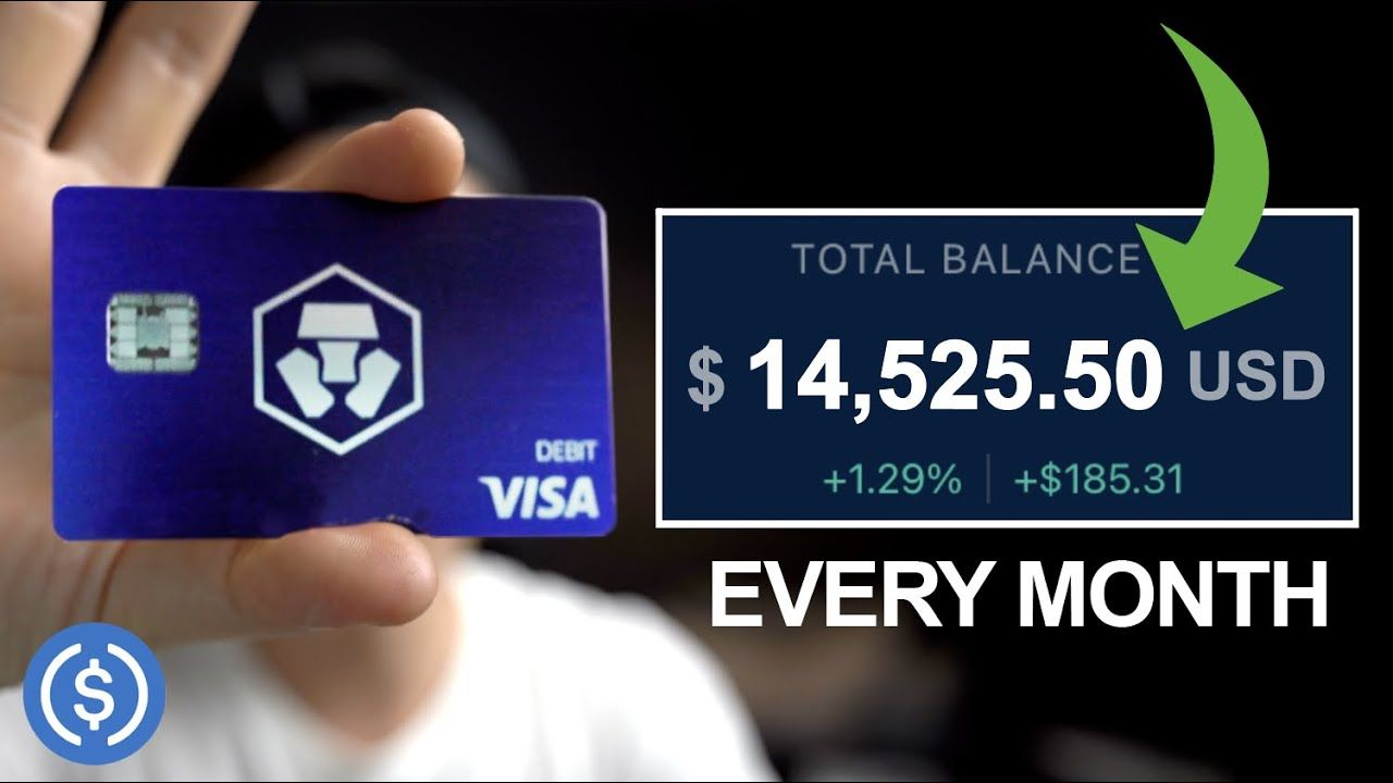 Crypto.com | How to Earn Passive Income Through Cryptocurrency
