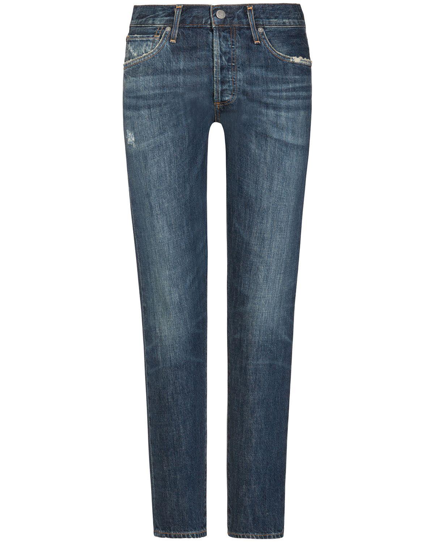 High Rise Jeans Liya aus Baumwolle
