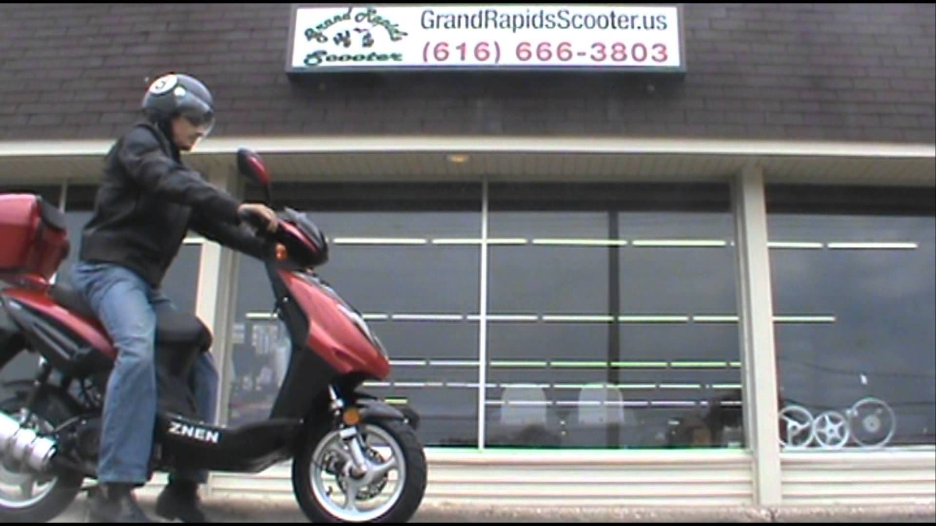 This Znen built Supremo scooter is built to last! The