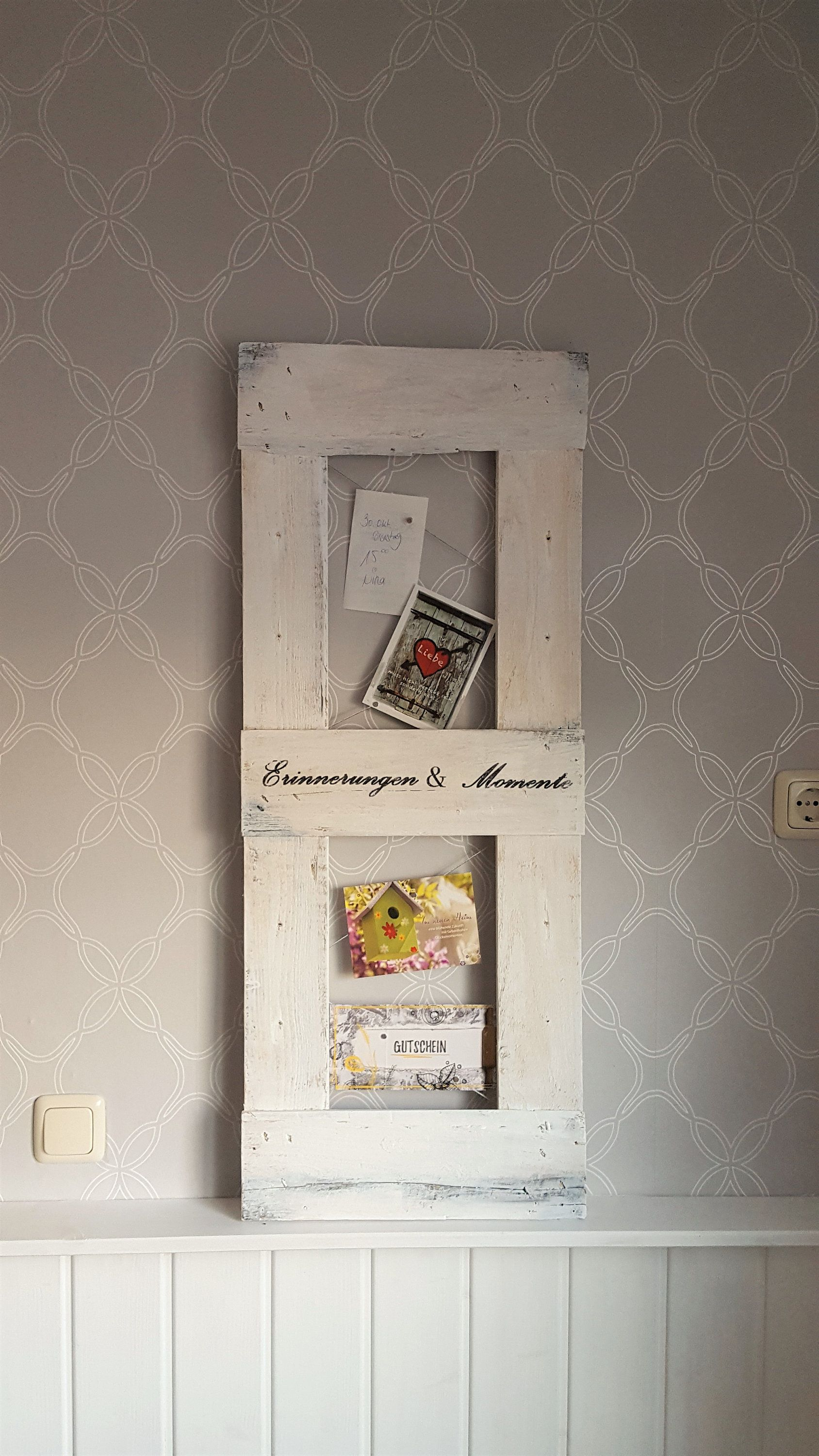 Magnettafel Küche Vintage Photo Holder In Country House Look Pinboard Magnetic Board