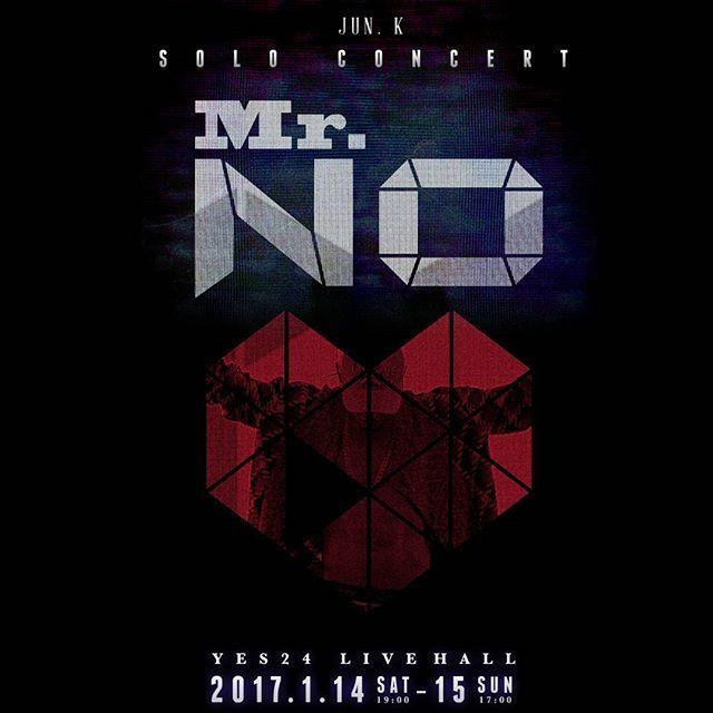 SOLO CONCERT IN #KOREA AT MY #BDAY  2017.01.14 ~ 01.15 만나요 우리 🐼😂🎼🎤🎹🙏 #JUN_K #준케이 #콘서트