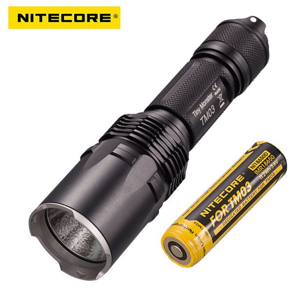 Nitecore Tiny Monster Tm03 Fourcree Xhp70 Leds Tactical Flashlight 2800 Lumens With Tm03 18650 For Hunting Fis Tactical Flashlight Light Accessories Flashlight