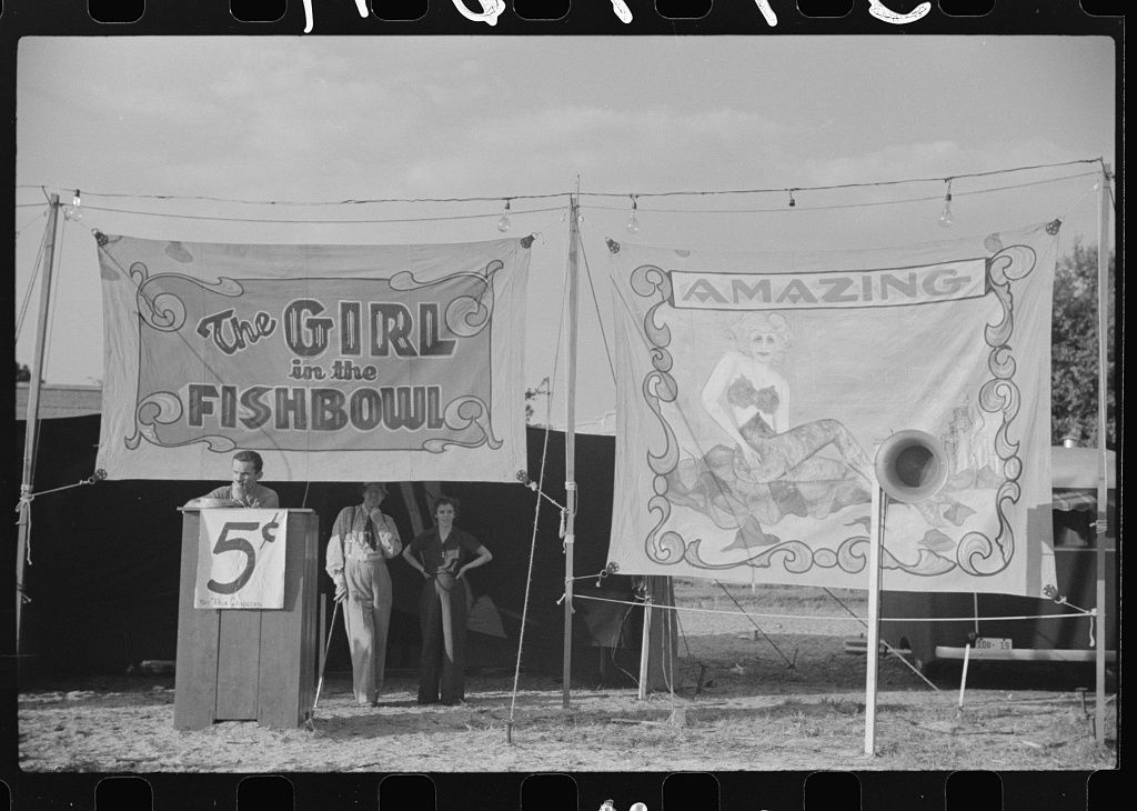 Plant City, Florida, strawberry festival and carnival. Marion Post Wolcott, 1939.