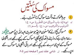 Sunnah For Miswak Hadith Quotes Islam Quran Islamic Information