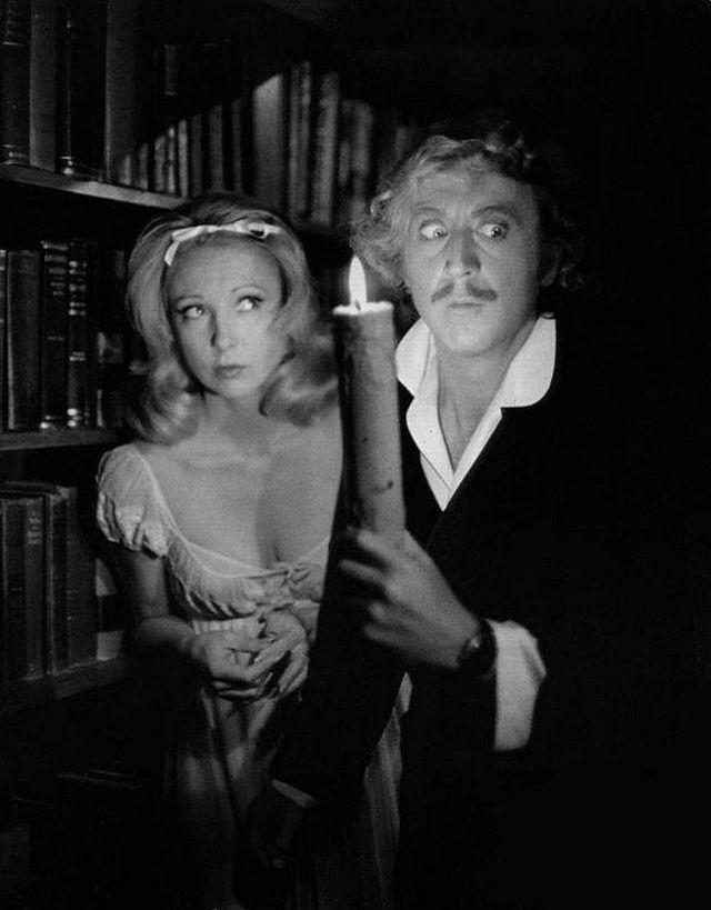 Terri Garr & Gene Wilder Young Frankenstein by Mel Brooks