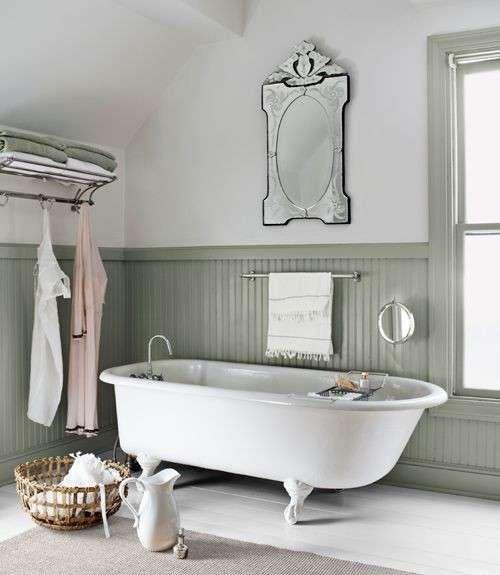 Arredare il bagno in stile shabby chic Bellissimi bagni