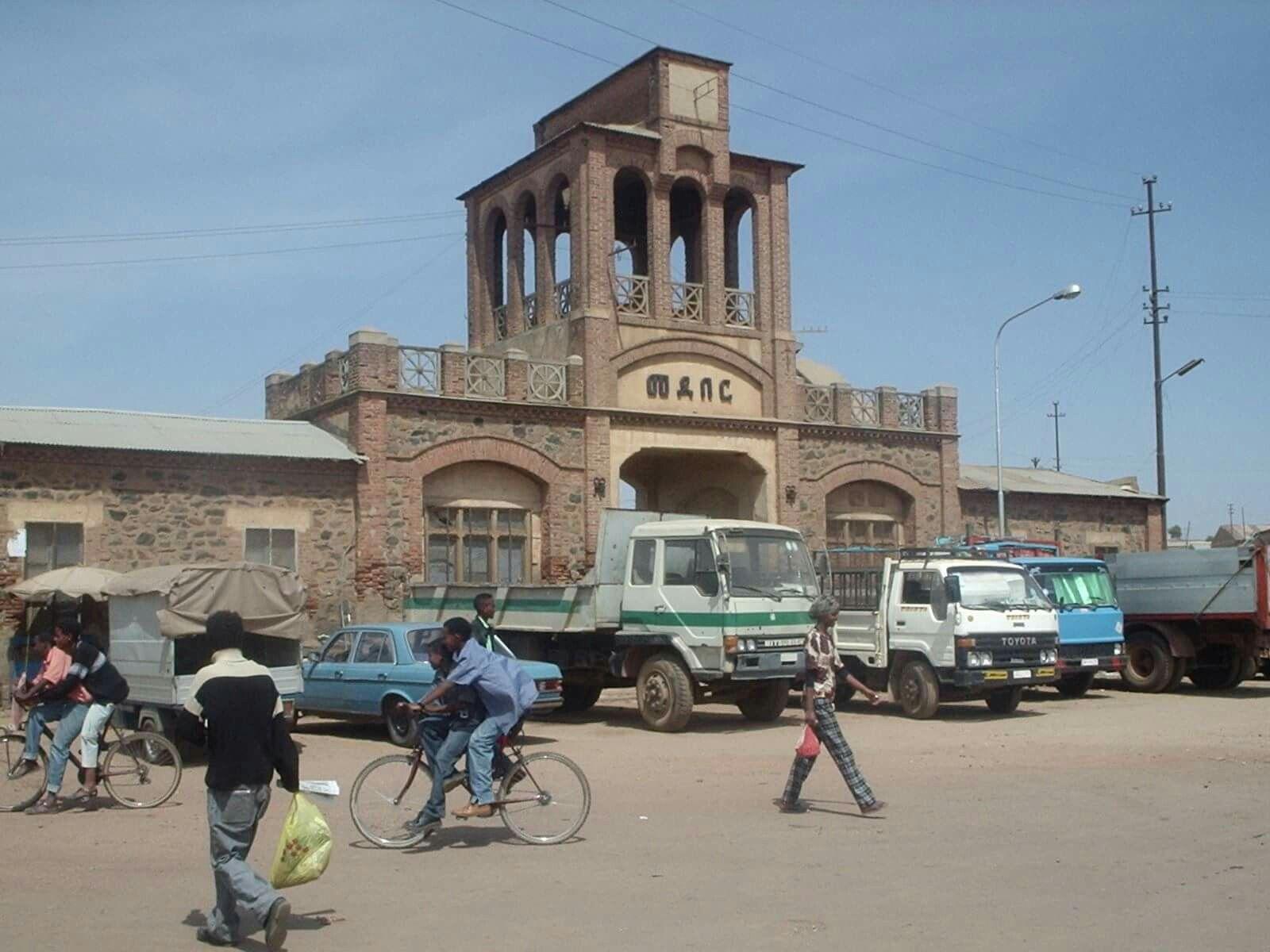 2004 Medeber - Asmara old train station Keren shida monument