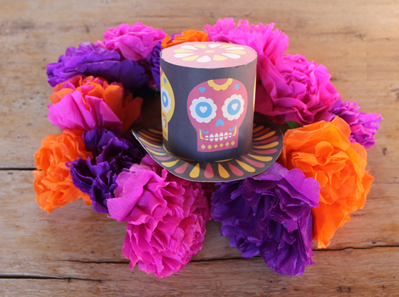 Day of the dead tissue paper flowers image collections flower you can find this on etsy httpsetsylisting107842972 you can find this on etsy httpsetsylisting107842972sweetheart day of mightylinksfo