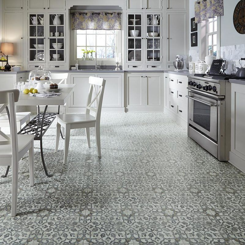 Carpet Industries Vinyl flooring kitchen, Luxury