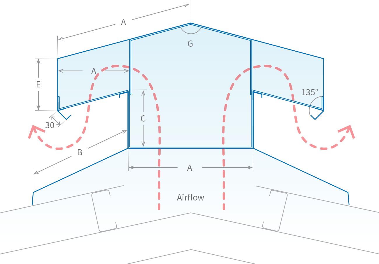 Roofing Accessories Ventridge Ridge Diagram Telhados