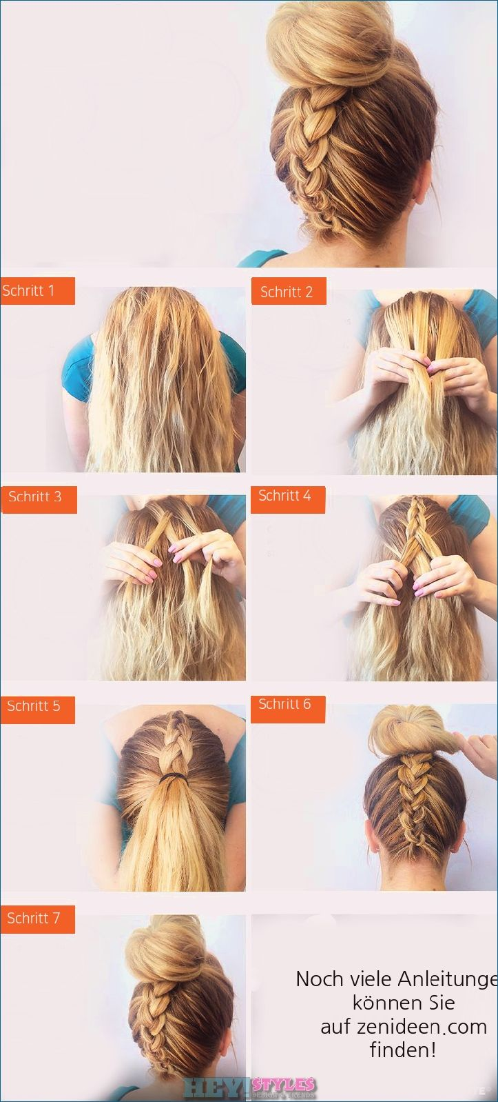 Braided Shoulder Length Hair 15 Easy To Use Instructions For Every Day Heystyles Hair Styles Long Hair Styles Hair Hacks