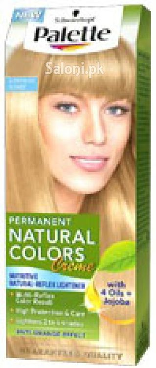 Schwarzkopf Palette Permanent Natural Colour Blonde Super Beige 10
