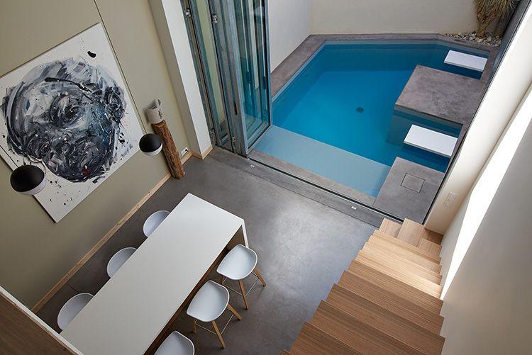carr dor catgorie petite piscine carr bleu atelier piscine la roche sur yon 85 architecte pauline moussier photographe franois - Piscine Roche Sur Yon