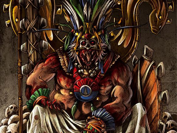 El nacimiento de Huitzilopochtli - Un Día Más Culto