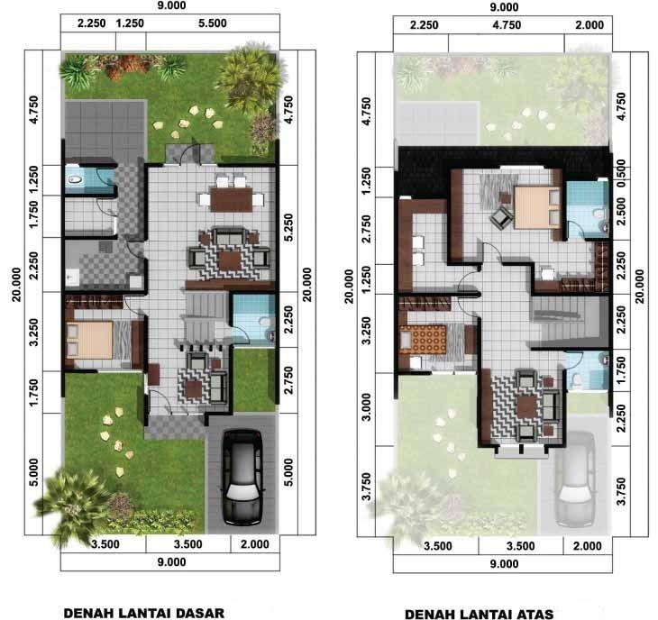 Desain Rumah Minimalis 6x12 Sederhana 11 01 t Modern