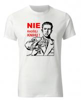 Vtipné tričko Nie radšej knihu - fajntričko.sk