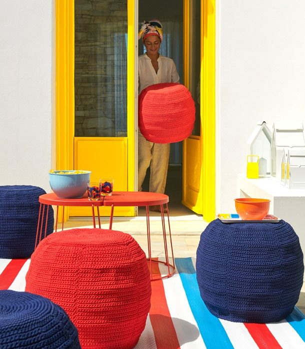 Outdoor Furniture & Patio Sets - IKEA | Ikea, Pouffe ...