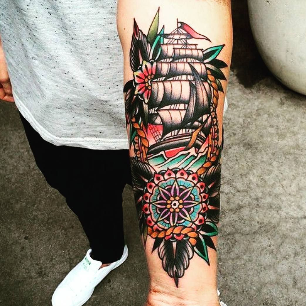 Traditional Tattoos American Traditional: Traditional #American #tattoo …