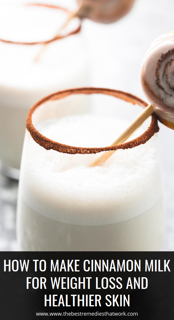 to Make Cinnamon Milk For Weight Loss and Healthier Skin