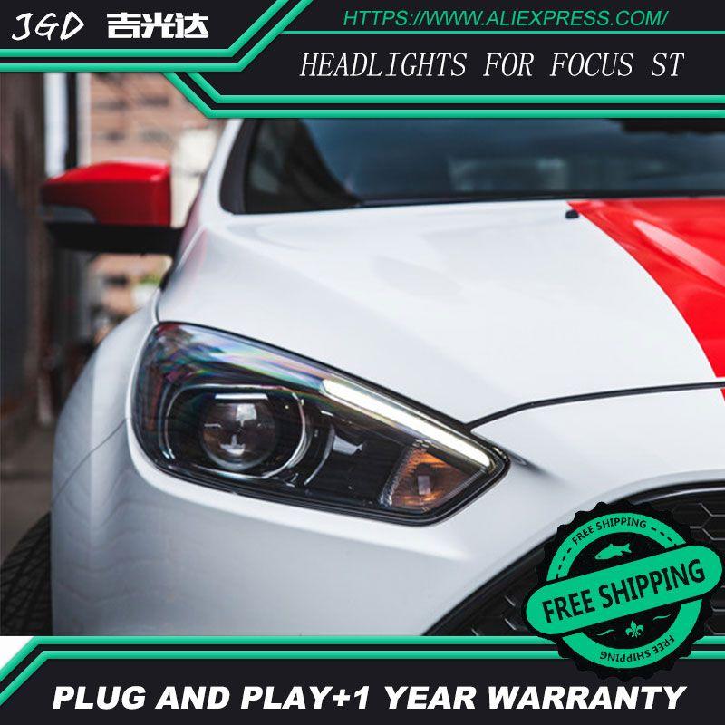 Hid Ford Focus Headlights Headlamps Hid Hernia Lamp Accessory