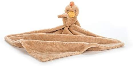 Jellycat Bashful Chicken Baby Security Blanket #securityblankets