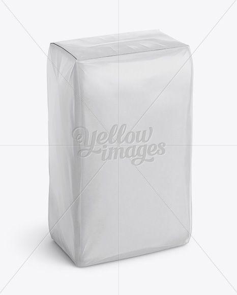 Download Glossy Paper Bag Mockup Halfside View High Angle Shot In Bag Sack Mockups On Yellow Images Object Mockups Bag Mockup High Angle Shot Glossy Paper