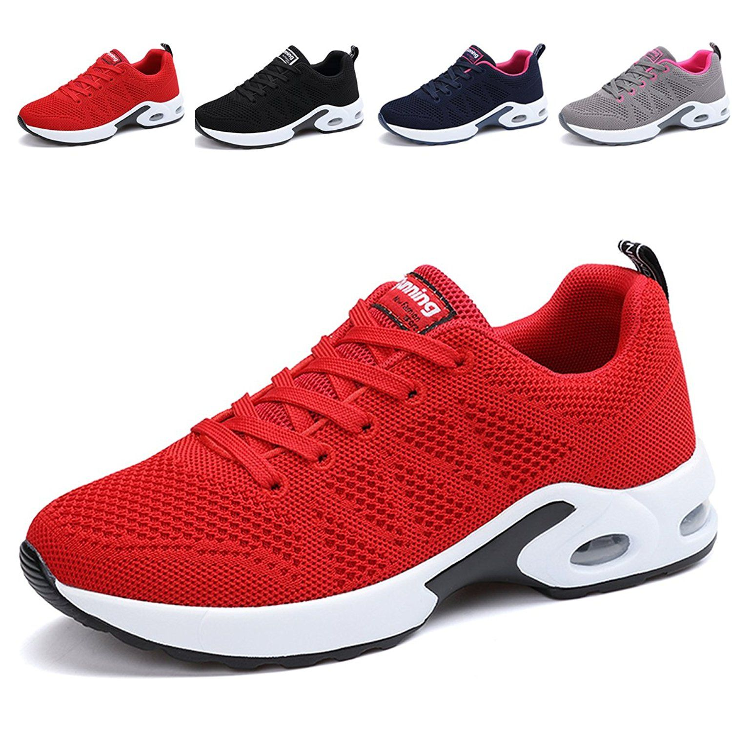 Womens Breathable Fashion Walking Sneakers Light Athletic Tennis Running Shoes