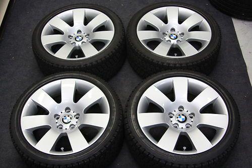 Bmw E60 18 Wheels Runflat Winter Snow Tires 525i 530i 535i 545i