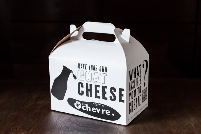 DIY Goat Cheese Kit ++ Belle Chevre