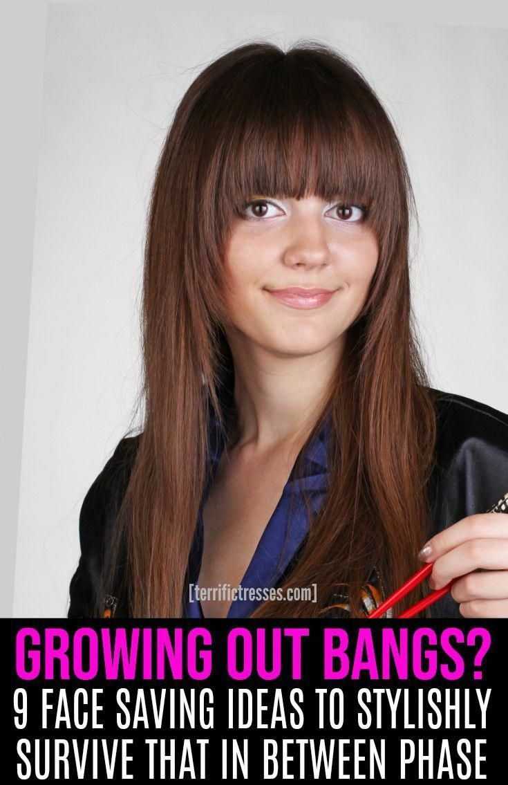 #ponieshairstyletips | Growing out bangs, Growing out fringe, Hairstyles with bangs