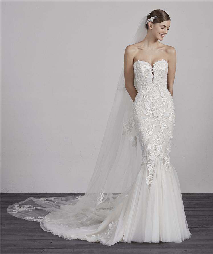 Pronovias Ercilia Wedding Dresses Pronovias Wedding Dress Wedding Dress Sizes