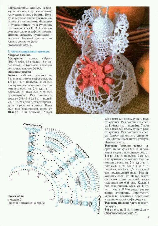 angel pattern   diciembre   Pinterest   Tejido, Navidad y Ángeles de ...