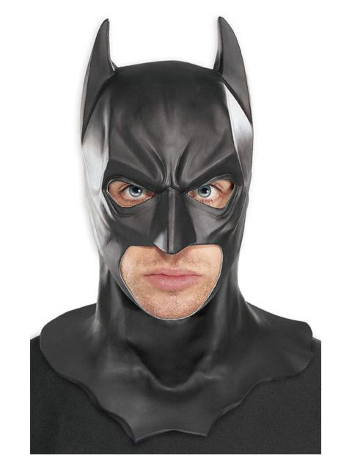 Batman Mask Costume Outfit Latex Adults Fancy Dress Theme Party Cosplay