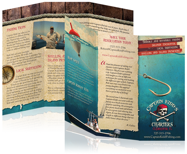 Brochure Design In Tampa Clearwater St Pete Florida Brochure Design Web Development Design Brochure