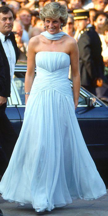 Imagini pentru lady diana Cannes 1987