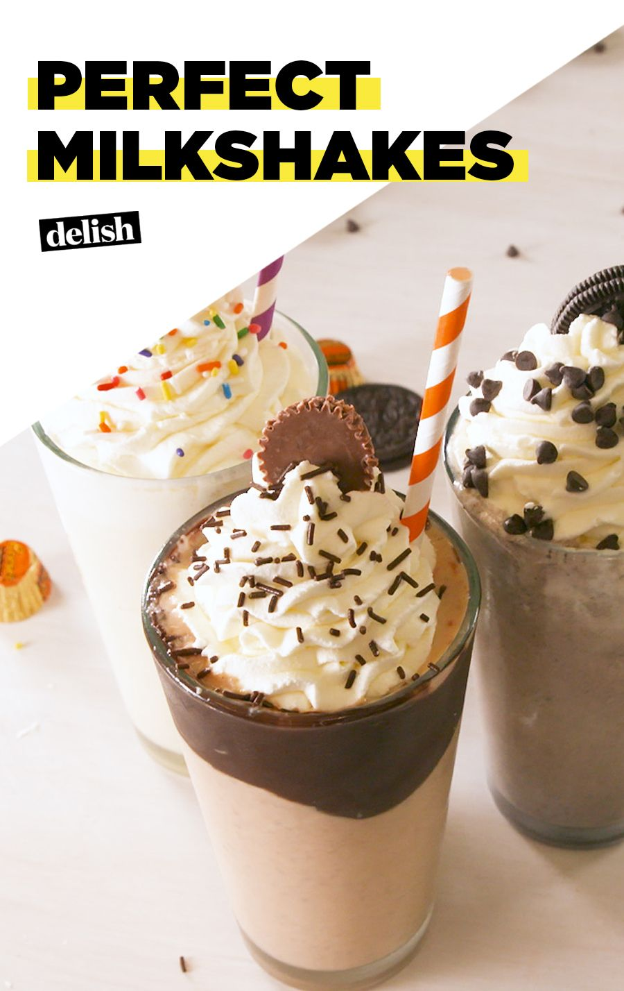 Have The Perfect Milkshake Whenever You Want With This Easy Recipe Recipe Milkshake Recipe Easy Milkshake Recipes Perfect Milkshake Recipe