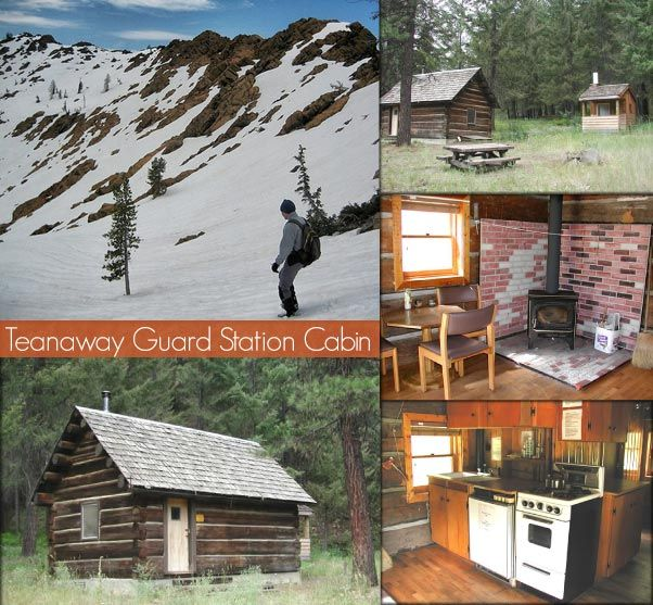 Teanaway guard station very rustic sleeps 2 near cle for Bumping lake cabin rentals
