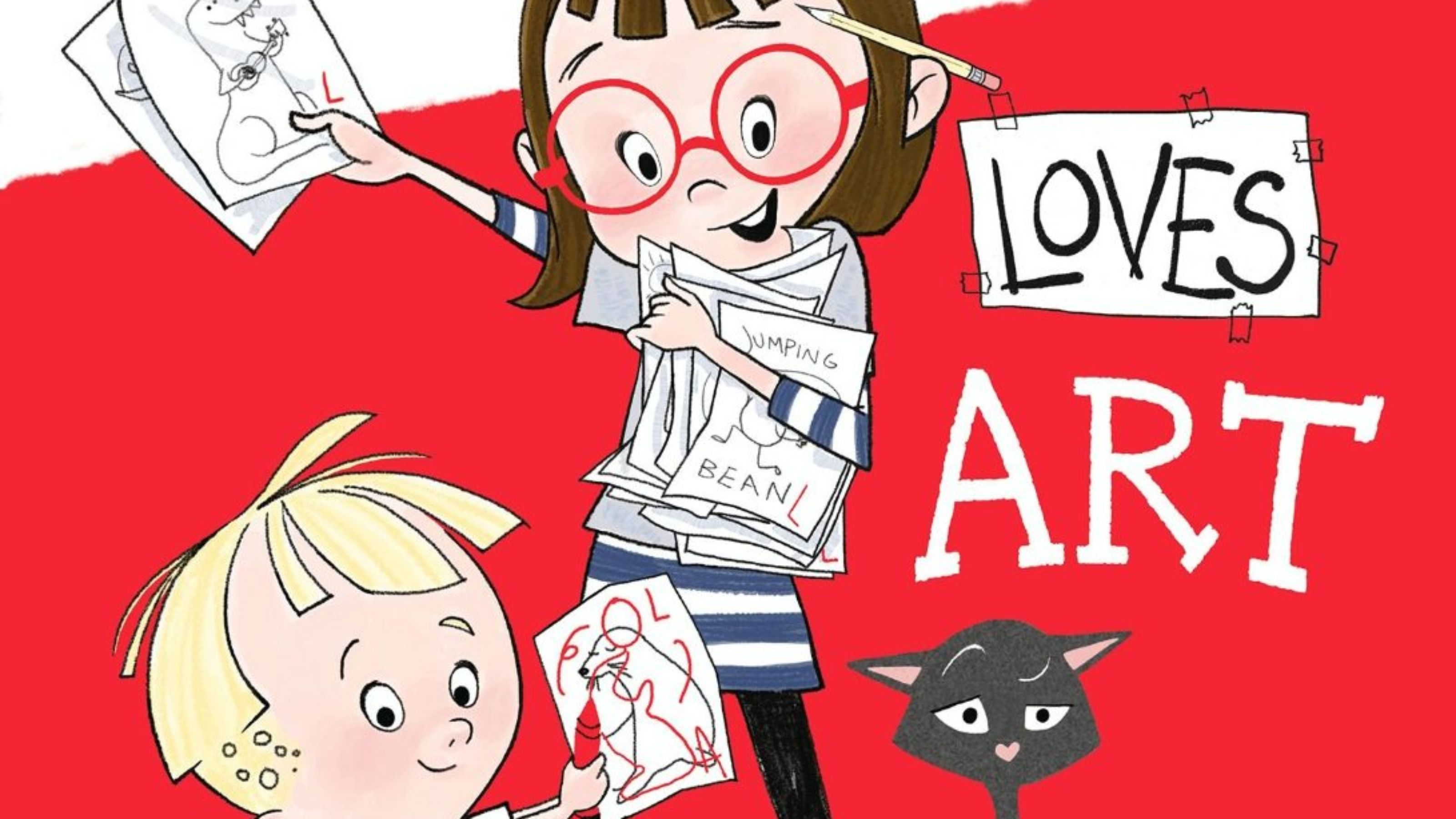 'Louise Loves Art': Preview Kelly LIght's cool kids' book