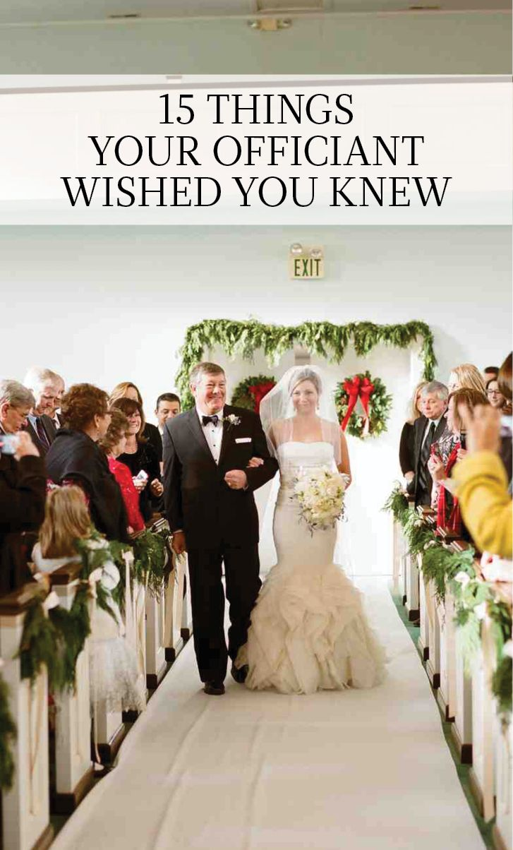 15 Things Your Officiant Wished You Knew Wedding Officiant Attire Wedding Officiant Business Wedding Officiant Script