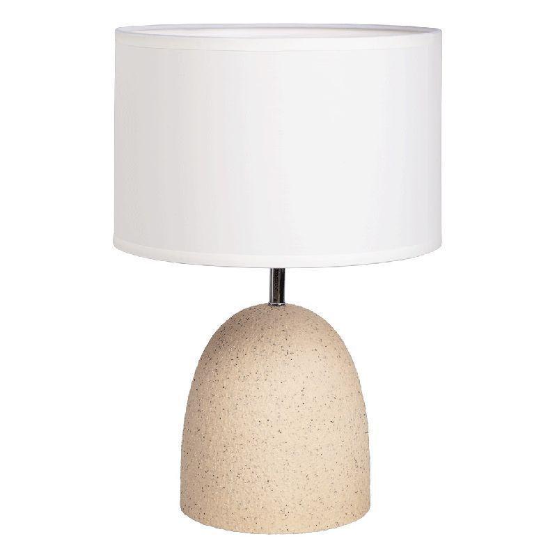 Lampe Metal Effet Galet Beige Lampe Metal Lampes De Table Et Galets