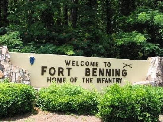 fort benning strip